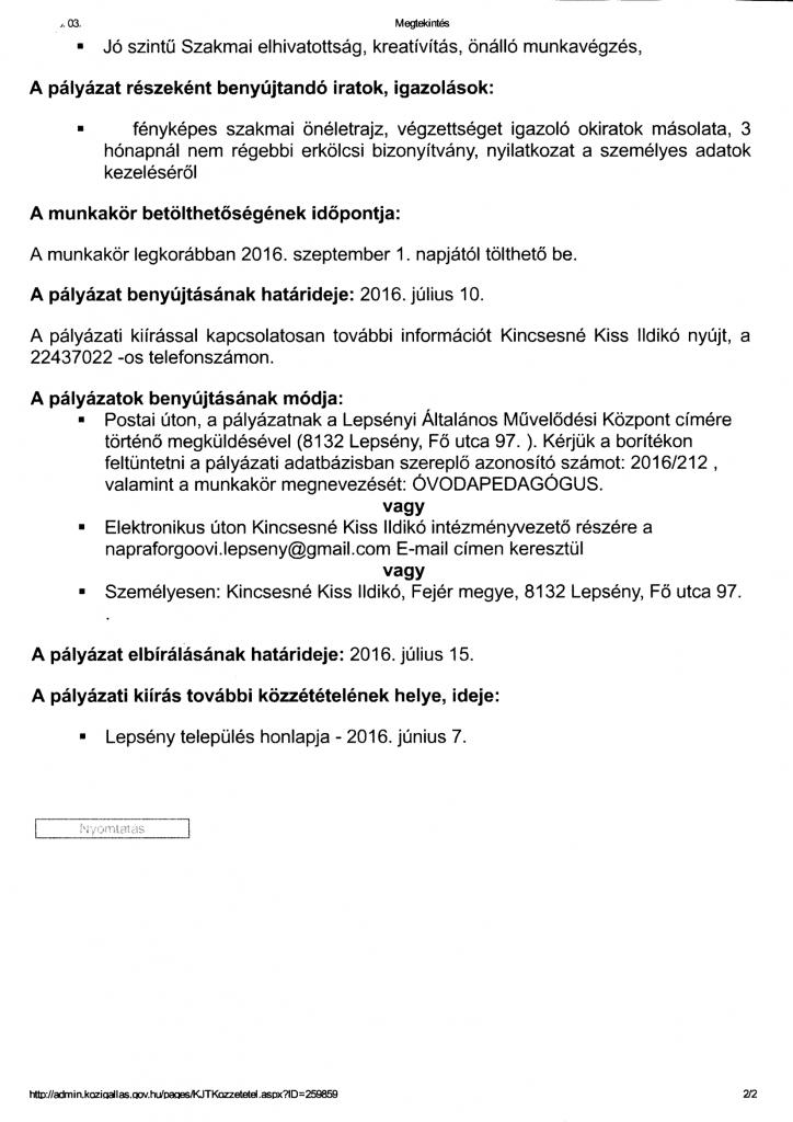 Óvodapedagógus 2.-2