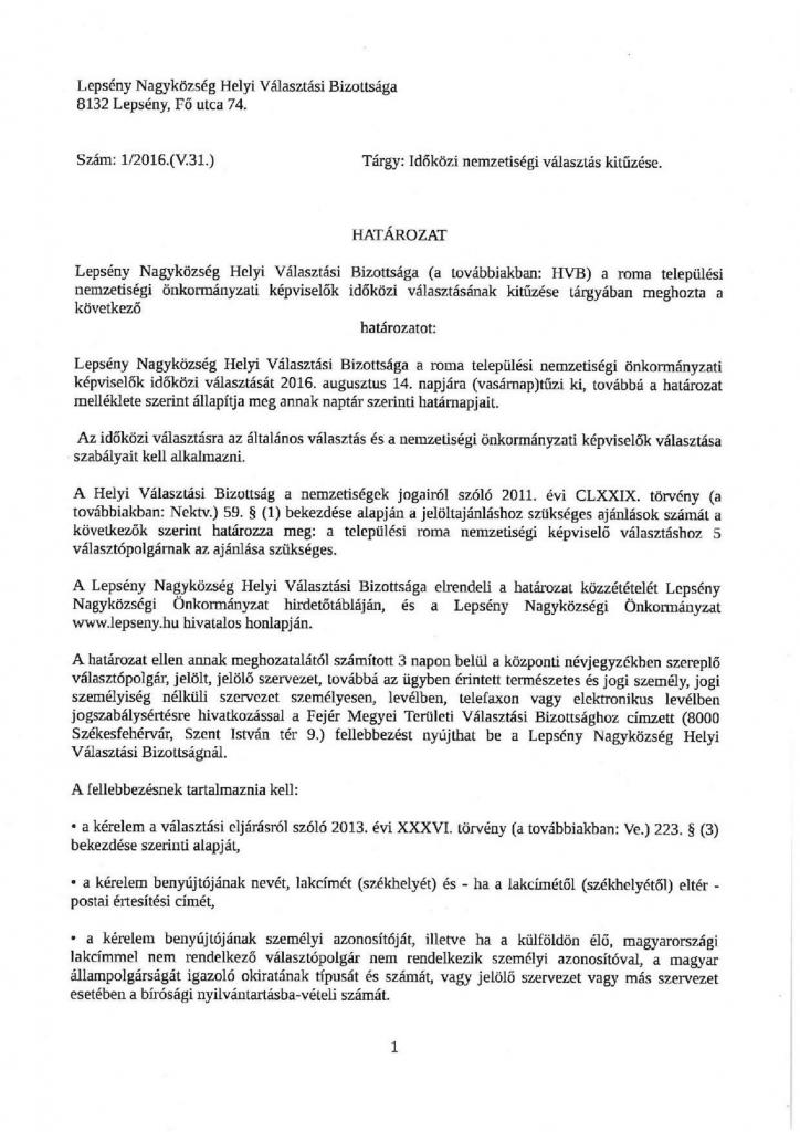 HVB határozat-1