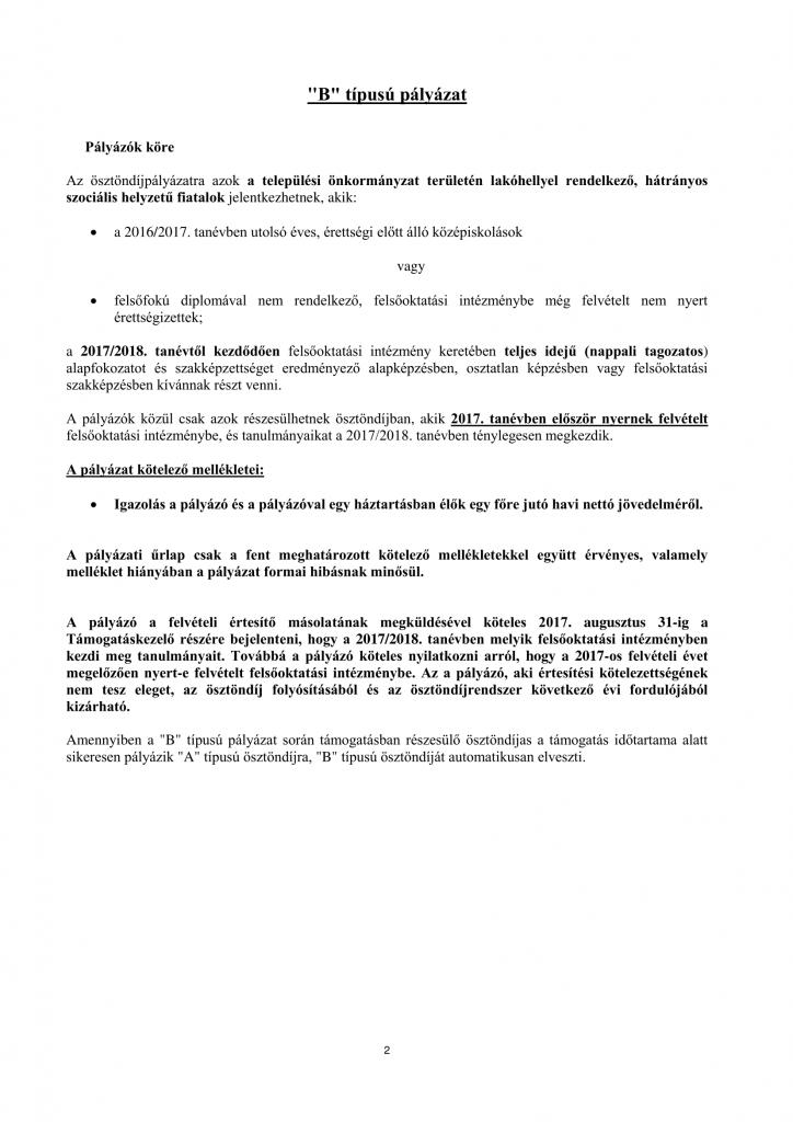 bursa-palyazati-kiiras-2016-2