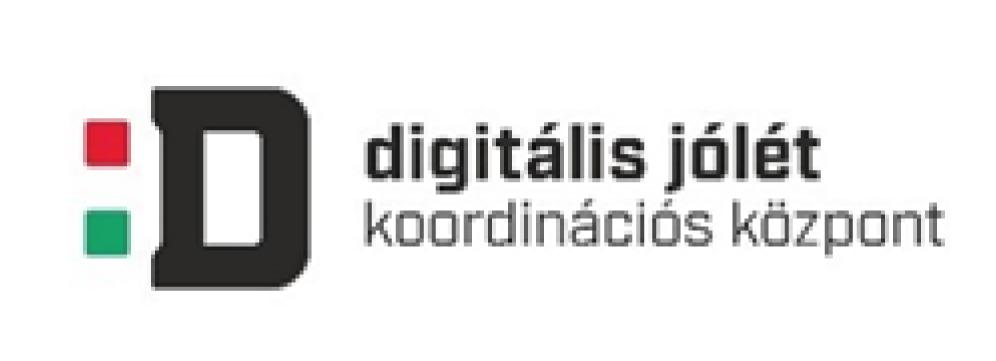 A Digitális jólét koordinációs központ logója.