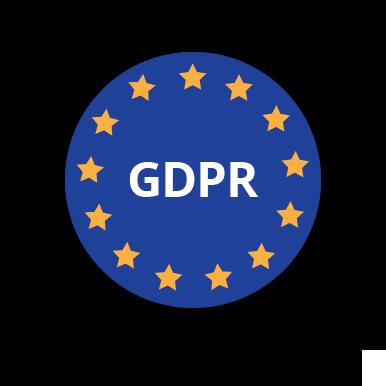A GDPR (Általános adatvédelmi rendelet) logója