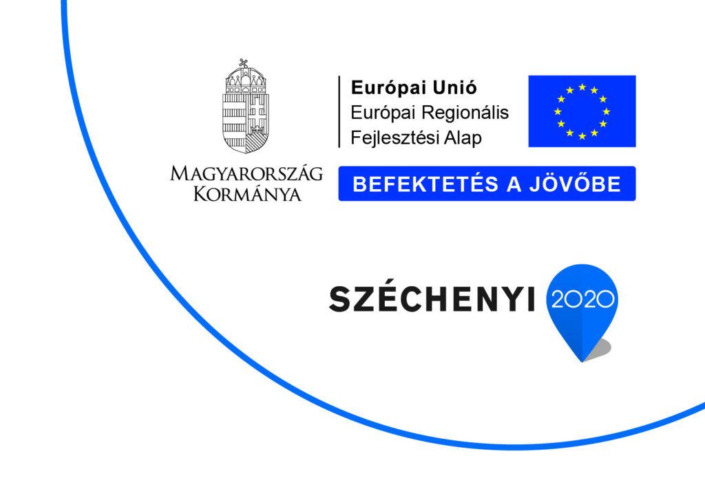 Széchenyi 2020 Európai Regionális Fejlesztési Alap infoblokk
