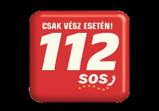 112-es vészhívó logó